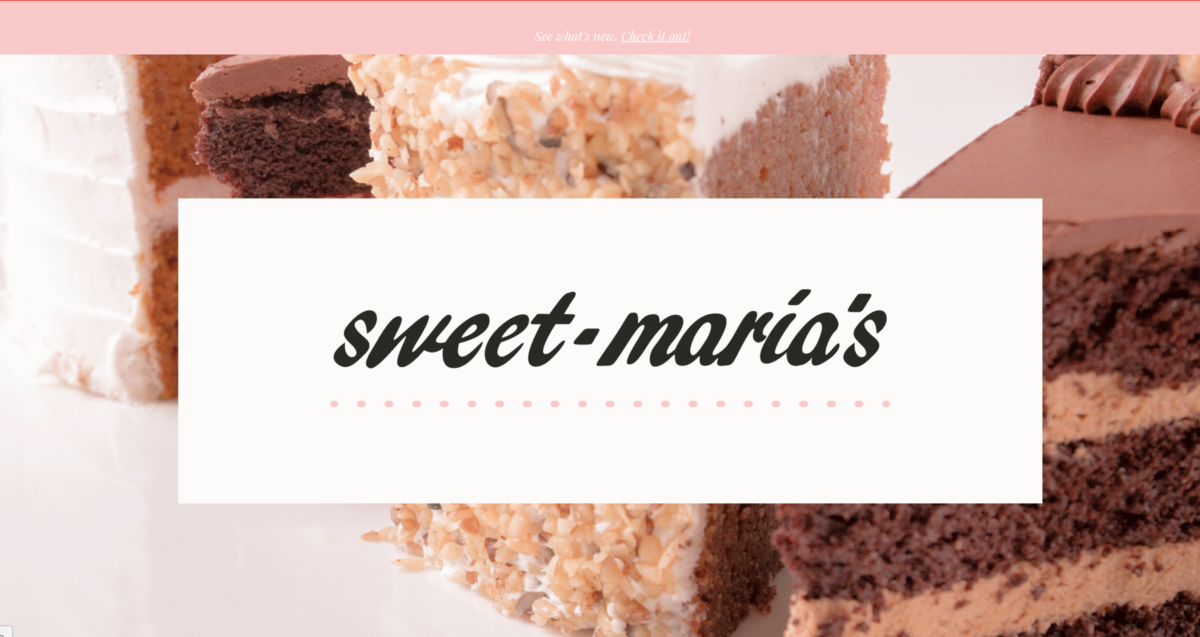 Sweet Maria's Website Homepage and online store